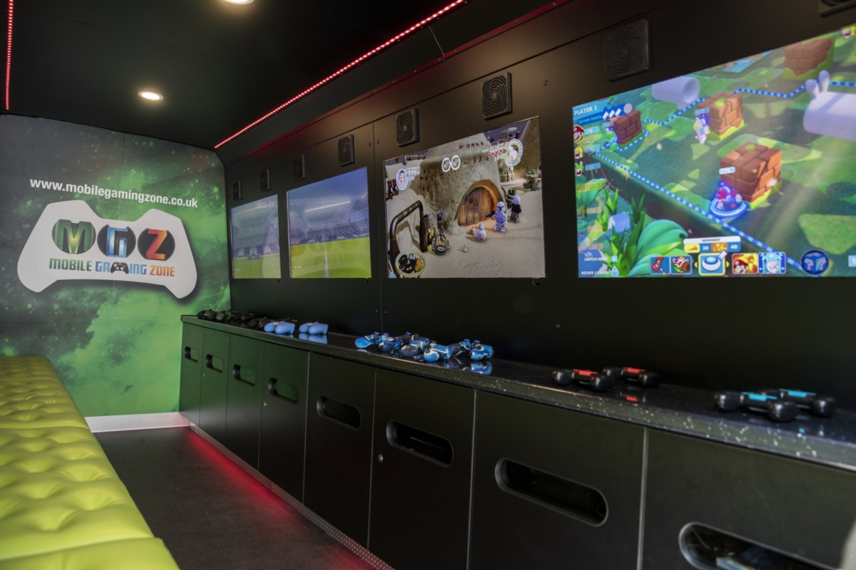 Mobile Gaming Zone
